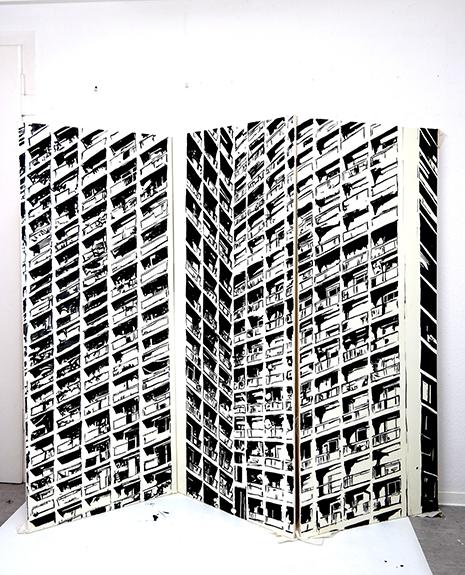 par idolie salon international du dessin contemporain espace de l art concret centre d art. Black Bedroom Furniture Sets. Home Design Ideas