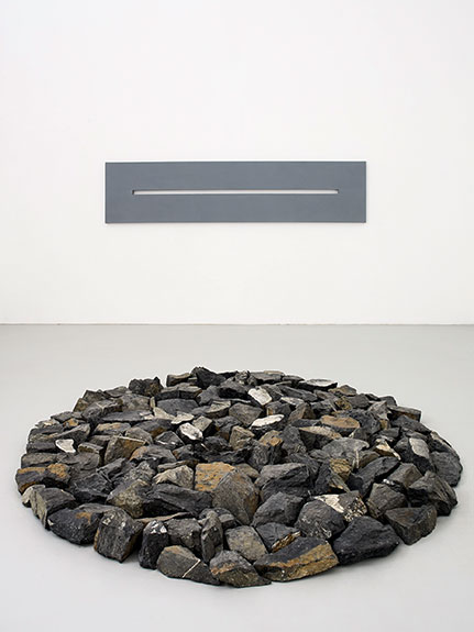 donation Albers-Honegger, oeuvres de Alan Charlton et Richard Long © eac